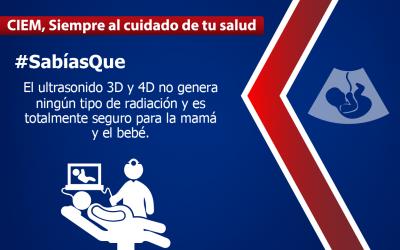Conoce a tu bebé con un ultrasonido 3D y 4D