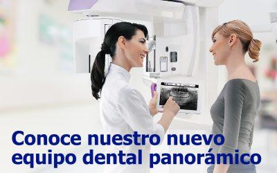 Conoce nuestro nuevo equipo dental panorámico