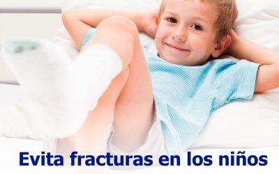 Evita fracturas en los niños
