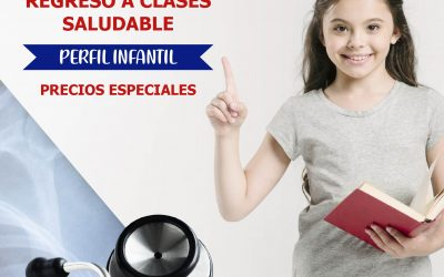 ¡Regreso a clases saludable!