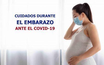Cuidados durante el embarazo ante el SARS Cov-2