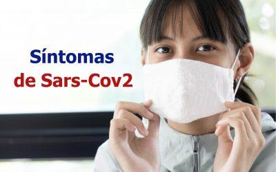 Síntomas de Sars-Cov2